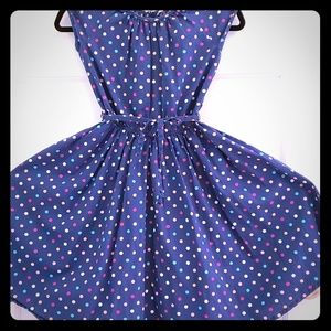 Other - Dotted Blue Dress